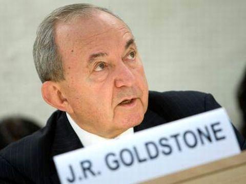 השופט ריצ'רד גולדסטון שעמד בראש הוועדה. לא הועלו בפניו נימוקים צודקים של מדינת ישראל [צילום: AP]
