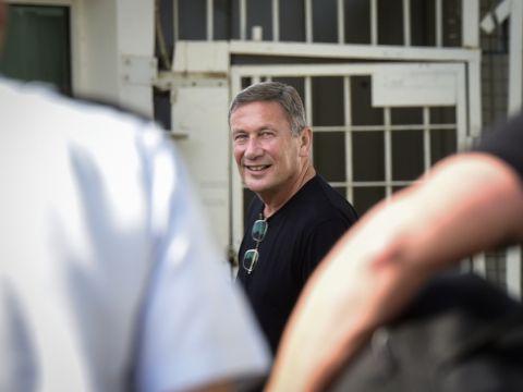 דנקנר בכניסה לכלא ב-2018 [צילום: פלאש 90]