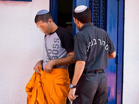 אסיר בכלא מעשיהו [צילום אילוסטרציה: משה שי/פלאש 90]