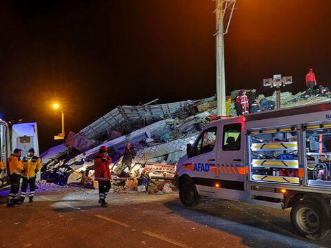 רעידת אדמה בטורקיה [צילום: AP]