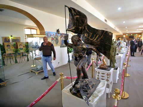 מוזיאון המלחמה בדאעש, בגדד [צילום: חליד מוחמד, AP]