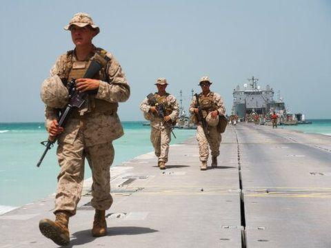 לא רק להפעיל את הצבא [צילום: ג'ון גרמבל, AP]