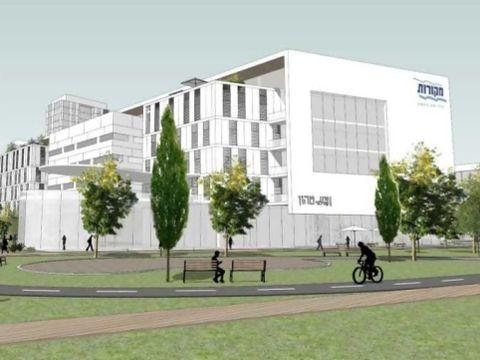 מבנה עתידי של משרדי חברת מקורות [צילום: אדריכל מן שנאר]