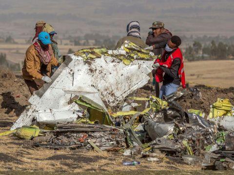 התרסקות המקס באתיופיה, מארס 2019 [צילום: מולוגטה איינה, AP]