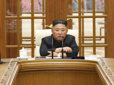 שליט קוריאה הצפונית, קים ג'ונג און [צילום: AP]