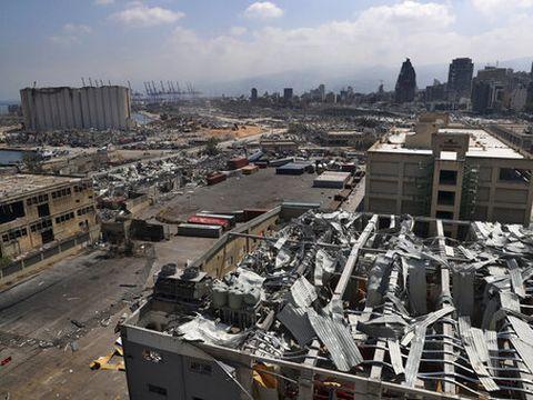 ביירות לאחר הפיצוץ [צילום: בילאל חוסין, AP]