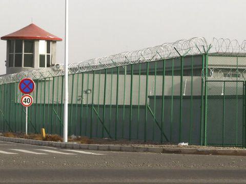 מחנה מעצר במחוז שיניאנג [צילום: נג האן גואן, AP]