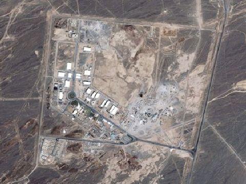 המתקן הגרעיני בנתנז. נזק חמור [צילום: AP]